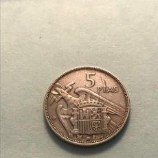 Monedas Franco: MONEDA COIN FECHA CLAVE *** 5 PESETAS 1957 * 61 BONITA DIFICIL!!!. Lote 287792503