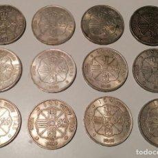 Monedas Franco: LOTE 12 MONEDAS 100 PESETAS PLATA 1966 ¡GRAN OPORTUNIDAD!. Lote 287804323