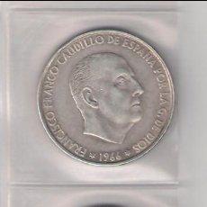 Monedas Franco: 3 MONEDAS DE 100 PESETAS DEL ESTADO ESPAÑOL (FRANCO) DE 1966 *66, *67 Y *68. PLATA. MBC.. Lote 288019753