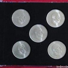 Monedas Franco: 100 PESETAS FRANCO 1966*66,67,68,69,70. Lote 288869938