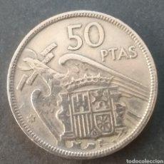 Monnaies Franco: MONEDA 50 PESETAS ESPAÑA AÑO 1957 ESTRELLA 58. Lote 289236578