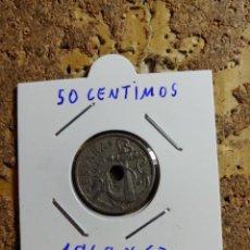 Monedas Franco: MONEDA DEL ESTADO ESPAÑOL DE 50 CENTIMOS DEL AÑO 1949 * 62. Lote 289431858