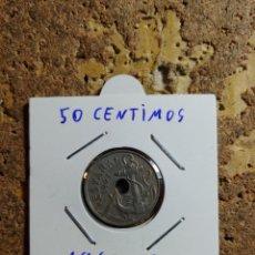 Monedas Franco: MONEDA DEL ESTADO ESPAÑOL DE 50 CENTIMOS DEL AÑO 1963 * 65. Lote 289433133