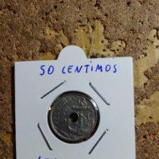 Monedas Franco: MONEDA DEL ESTADO ESPAÑOL DE 50 CENTIMOS DEL AÑO 1963 * 65. Lote 289433413