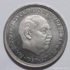 Monedas Franco: FRANCO 5 PESETAS 1957 *74 SC. Lote 289562068