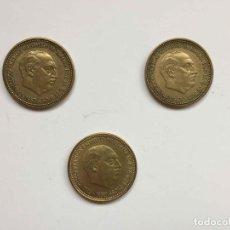 Monedas Franco: 3 MONEDAS: 2'50 PESETAS (1953) FRANCO ¡COLECCIONISTA! ¡ORIGINALES!. Lote 289569548