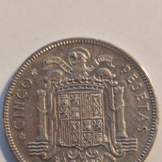 Monedas Franco: MONEDA 5 PESETAS 1949*49. Lote 289825408