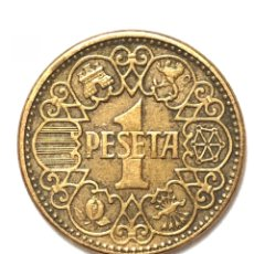 Monedas Franco: 1 PESETA DE 1944. MBC. PLUS ULTRA.. Lote 289855783