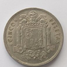 Monedas Franco: (3/3)MONEDA 5 PESETAS 1949*50. Lote 289861388