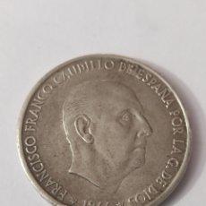 Monedas Franco: MONEDA 100 PESETAS 1966 *67. Lote 291016368