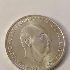 Monedas Franco: MONEDA 100 PESETAS 1966 *68 SIN CIRCULAR S/C. Lote 291022603