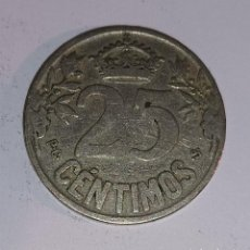Monedas Franco: LOTE DE 10 MONEDAS NÍQUEL 25 CTS ESPAÑA 1925. Lote 292561288