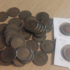 Monedas Franco: LOTE DE 38 MONEDAS DE 2,50 PESETAS. Lote 293414183