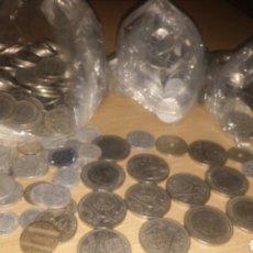 Monedas Franco: 3 KILOS DE MONEDAS EPOCA DE FRANCO. Lote 293443558