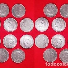 Moedas Franco: LOTE - 20 MONEDAS DE PLATA, 100 PTAS FRANCO 1966. Lote 293940993