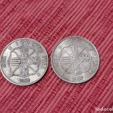 Monedas Franco: 2 X 100 PESETAS 1966. Lote 295347308