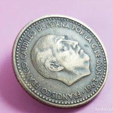 Monedas Franco: MONEDA-ESPAÑA-1 PESETA-1963*63-FRANCISCO FRANCO-EXCELENTE-COLECCIONISTAS. Lote 295369863
