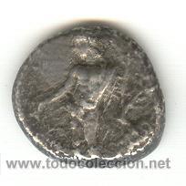 MUY RARA ESTATERA DE PLATA DE ISSOS EN LA REGIÓN DE CILICIA 400-390 A.C. 2000 LIBRAS APOLO HERAKLES (Numismática - Periodo Antiguo - Grecia Antigua)