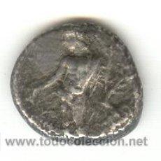 Monedas Grecia Antigua: MUY RARA ESTATERA DE PLATA DE ISSOS EN LA REGIÓN DE CILICIA 400-390 A.C. 2000 LIBRAS APOLO HERAKLES. Lote 24166643