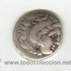 Monedas Grecia Antigua: BONITA DRACMA DE PLATA DE FILIPO III DE MACEDONIA (323-317 A.C.) SUCESOR ALEJANDRO MAGNO. Lote 27275371