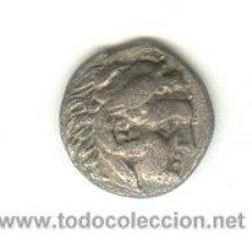 Monedas Grecia Antigua: MUY BONITO Y RARO TETROBOLO DE PLATA BUSTO DE HERAKLES CECA DE KALLATIS TRACIA. Lote 22784093