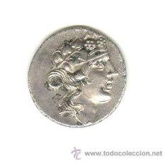 Monedas Grecia Antigua: PRECIOSO TETRADRACMA DIONISOS DIOS DEL VINO Y LA VID HERACLES CON MAZA DIFICIL EN ESTA CONSERVACIÓN. Lote 24605075