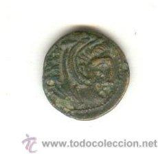 Monete Grecia Antica: RARO BRONCE DE KASANDRO, REY DE MACEDONIA DEL AÑO 319 AL 297 ANTES DE CRISTO. ANVERSO: CABEZA DE HÉR. Lote 24561088