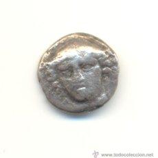 Monedas Grecia Antigua: CV- RARO TETROBOLO DE LA CIUDAD DE AINOS EN LA REGIÓN DE TRACIA (405-357 A.C.). Lote 28401770