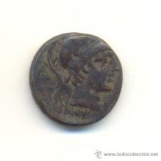 Monedas Grecia Antigua: CV-MUY BONITO BRONCE DE LA CIUDAD DE AMISOS SIGLO II-I A.C. CABEZA DE ARES ESPADA. Lote 28401791