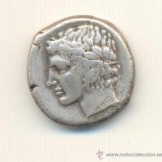 Monedas Grecia Antigua: CV-MUY RARO TETRADRACMA DE LA CIUDAD DE LEONTINI EN SICILIA (466-425 A.C.). Lote 28401823