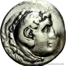 Monedas Grecia Antigua: GRECIA GREEK TETRADRACHM TETRADRACMA DE ALEJANDRO EL GRANDE CON RESELLO. Lote 34468351