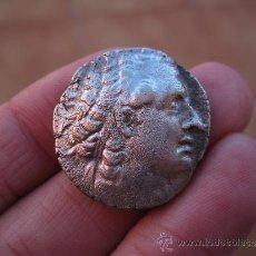 Monedas Grecia Antigua: GRECIA TETRADRACMA DE PLATA DE PTOLOMEO III MUY BONITO. Lote 34638740