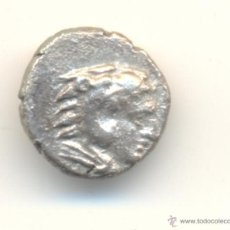 Monedas Grecia Antigua: RARO Y BONITO DIOBOLO DE PERGAMO (400-350 A.C.) CABEZA DE HERACLES Y ATHENA. Lote 39731907