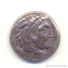 Monedas Grecia Antigua: CF- DRACMA DE PLATA DE ALEJANDRO III DE MACEDONIA ALEJANDRO MAGNO (336-323 A.C.). Lote 42196152