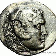 Monedas Grecia Antigua: GRECIA GREEK TETRADRACHM TETRADRACMA DE ALEJANDRO EL GRANDE. Lote 44165096