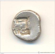 Monedas Grecia Antigua: RR ANTIQUISIMA ESTATERA DINASTIAS DE LYCIA (500-480 A.C.) ANV: JABALI REV: PEGASO PESO: 9 ' 40 GMS.. Lote 46651105