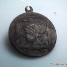 Monedas Grecia Antigua: MEDALLA DE BRONCE POETISA GRIEGA SAFO. MITOLOGÍA. TIEMPOS DE PLATÓN. Lote 99409372