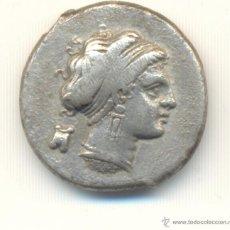 Monedas Grecia Antigua: DIDRACMA NEAPOLIS CAMPANIA ITALIA (450-340 A.C.) SEABY G.C. Nº299 FICHA SUBASTA. Lote 53255207