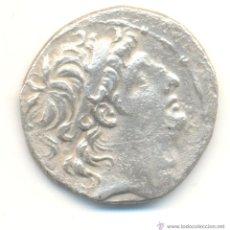Monedas Grecia Antigua: RARO TETRADRACMA ANTIOCO VIII REINO SELEUCIDA (125-121 A.C.) SEABY GREEK Nº7143 FICHA DE SUBASTA.. Lote 53255563