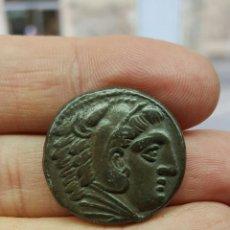 Monedas Grecia Antigua: TETRADRACMA DE ALEJANDRO MAGNO III DE MACEDONIA (336-323 A.C.) FICHA DE SUBASTA.. Lote 54367276
