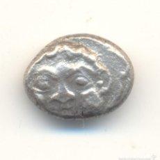 Monedas Grecia Antigua: BONITO HEMIDRACMA DE PARION 480 A.C. MÁSCARA DE GÓRGONA.. Lote 58064736