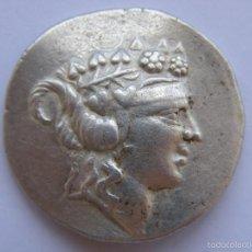 Monedas Grecia Antigua: THASOS.TETRADRACMA.DIONISOS Y HERCULES. SIGLO II A.C.. Lote 58081291