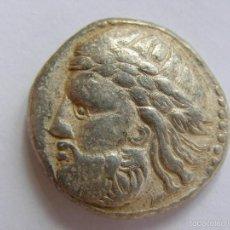 Monedas Grecia Antigua: CELTAS DEL DANUBIO. MUY RARO TETRADRACMA. IMITACION FILIPO II DE MACEDONIA.III AC.ORIGINAL. Lote 58142860