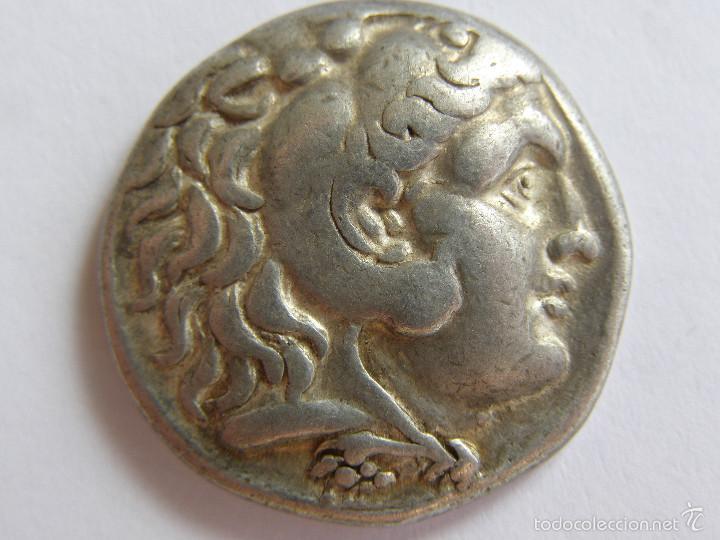 MACEDONIA. ALEJANDRO III. AMPHIPOLIS. TETRADRACMA. 275-272/1 AC.ORIGINAL (Numismática - Periodo Antiguo - Grecia Antigua)