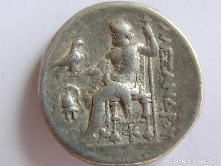 Monedas Grecia Antigua: MACEDONIA. ALEJANDRO III. AMPHIPOLIS. TETRADRACMA. 275-272/1 AC.ORIGINAL - Foto 2 - 58188679