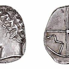 Monedas Grecia Antigua: GALIA MASALIA. ÓBOLO.(218-200 A.C.) A/CABEZA DE APOLO A IZQ.. Lote 89870132