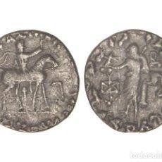 Monedas Grecia Antigua: MONEDAS GRIEGAS, TETRADRACMA., 35-5 A.C., INDOESCITAS DEL PAQUISTÁN.. Lote 102912578