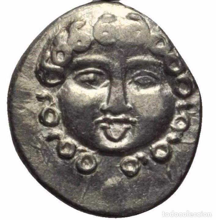 GRECIA, TRACIA APOLLONIA (PONTIKA) PONTICA! DRACMA PLATA (SIGLO V-IV AC) 400-380 AC SC-/EBC+ GORGONA (Numismática - Periodo Antiguo - Grecia Antigua)