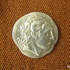 Monedas Grecia Antigua: MONEDA TETRADRACMA DRACMA LYSIMACHOS PLATA ALEJANDRO MAGNO 297 BC ANTIGUA GRECIA. Lote 105980383
