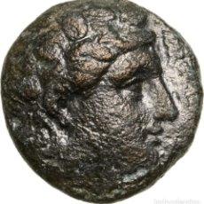 Monedas Grecia Antigua: 3385-GRECIA CLASICA-INTERESANTE HEMIOBOL EN BRONCE DE CIUDAD AIOLIS EN TEMNOS-SIGLO 3º AC. Lote 107025579